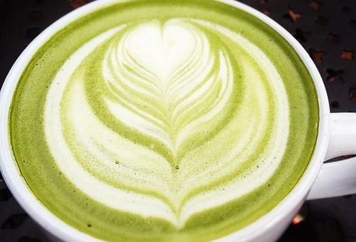 Günün Çayı : Matcha Latte